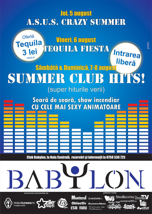 Suceava: Summer Club Hits