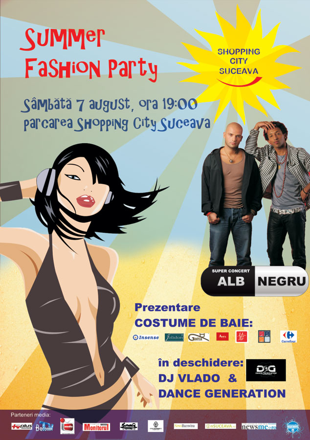 Suceava: Summer Fashion Party