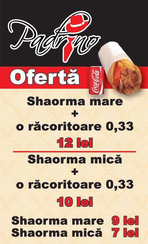 Shaorma | Restaurant Padrino Suceava