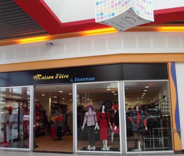 Magazinul Insense din Shopping City Suceava s-a mutat într-o nouă locație