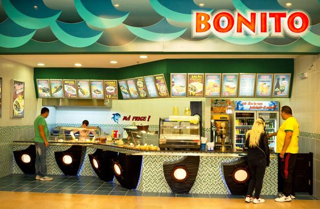 Bonito, un fast-food cu preparate din pește și fructe de mare, la Iulius Mall Suceava
